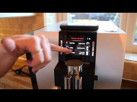 Jura Z6 15074 Bean to Cup Coffee Machine Review