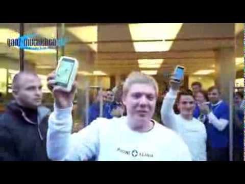Verkaufsstart iPhone 5s und iPhone 5c @ Apple Store München (20.09.2013)