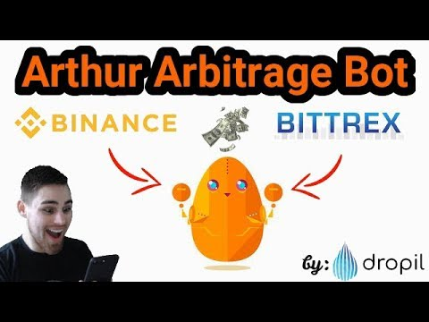 Dropil Update! Arthur - Crypto Arbitrage Bot! See In Action!