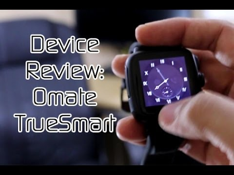 Omate TrueSmart Smartwatch 2.0 - Device Review