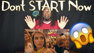 Baixar Dua Lipa - Don't Start Now (Official Music Video) (First Reaction)