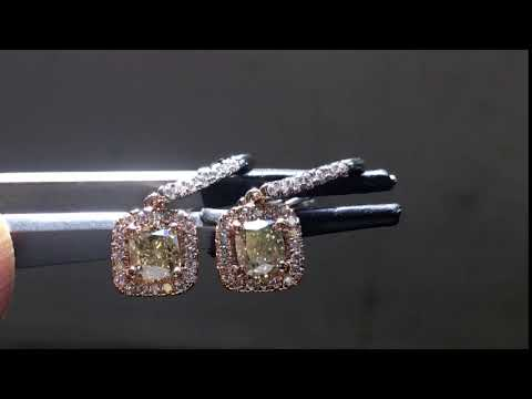 Dangle diamond earrings r5871