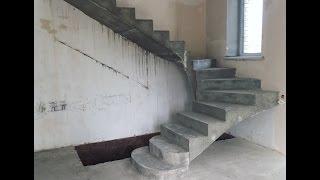 Бетоннная лестница на второй этаж(, 2016-08-17T19:32:14.000Z)