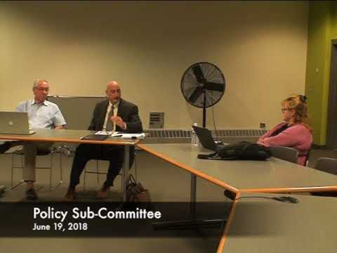 Policy Sub Committee 06.19.18