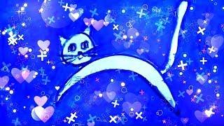 Логотип канала Кнопкины уроки. Как мы придумали и воплотили в жизнь волшебного котенка Кнопку.