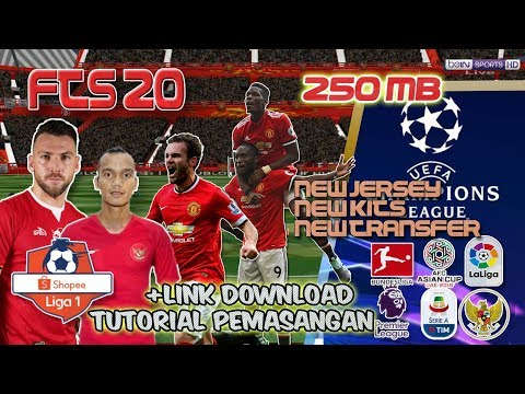 FTS 19 MOD SHOPEE LIGA 1 INDONESIA NEW JERSEY KITS TRANSFER UPDATE