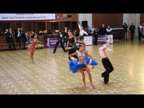 Mads og Cathrine VM i Moldova 2016 Junior 2 Samba