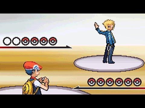 8th Gym Battle Vs Volkner [Pokemon Diamond]