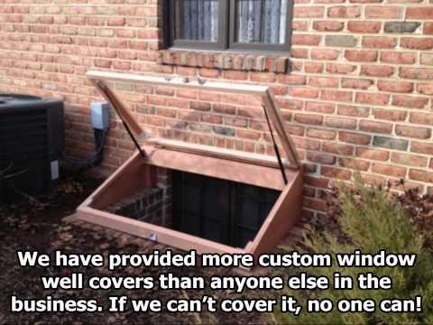 Egress Window Well Covers Philadelphia Pa Youtube