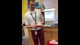 Teacher Is Surprised With A Gift From His Students After Getting His Sneakers Stolen In The Classroo