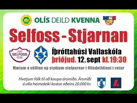 Selfoss Tv (Selfoss - Stjarnan)Olís deild kvenna 12.9.2017 kl 19:30
