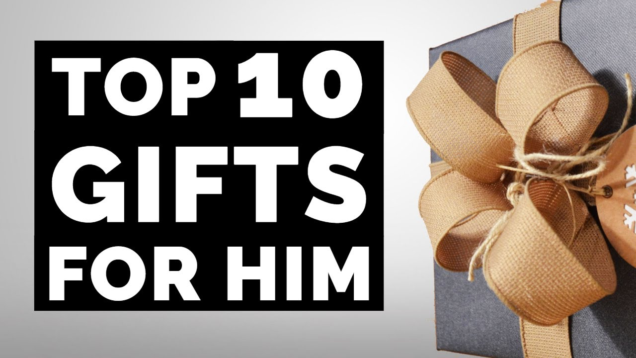 Amazon Gift Ideas For Him Top 10 Gift Guide For Birthday Christmas For Boyfriend Husband Dad Youtube