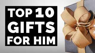 Amazon Gift Ideas For Him - Top 10 Gift Guide for Birthday & Christmas (For Boyfriend, Husband, Dad)