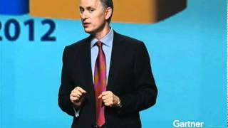 Peter Sondergaard, Gartner, Discusses 2012 Enterprise It Spending At Gartner Symposium/itxpo