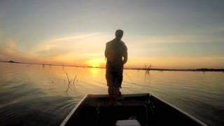 Bass Fishing Letsibogo Dam Bostwana - August 2015