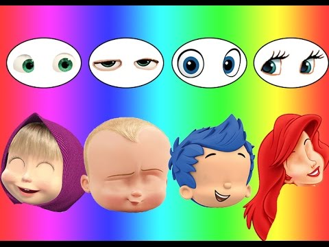 Thumbnail: Colors for children Wrong Eyes Bad Baby Boss Baby Dora Bubble Guppies Disney princess Family Song