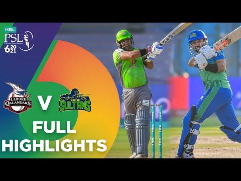 Full Highlights | Lahore Qalandars vs Multan Sultans | Match 7 | HBL PSL 6 | MG2T