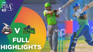 Full Highlights | Lahore Qalandars vs Multan Sultans | Match 7 | HBL PSL 6 | MG2T