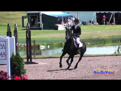 355S Carmen Holmes Smith on Digby JR Training Show Jumping The Event at Rebecca Farm July 2014