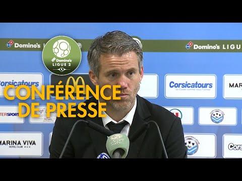 Conférence de presse Tours FC - FC Lorient ( 3-1 )  / 2017-18
