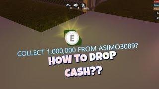 How To Drop Your Cash! Jailbreak | Roblox