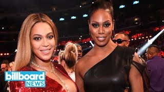 Laverne Cox Says She & Beyonce Are Collaborating on a New Project | Billboard News