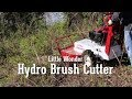 Little Wonder Hydro Brush Cutter Tackles Nasty Brush Cutting