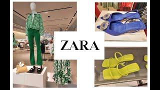 Шоппинг влог ZARA Обувь Платья Сумки ЛЕТО 2021