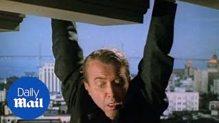 Jimmy Stewart stars in the 1958 Hitchcock thriller Vertigo - Daily Mail