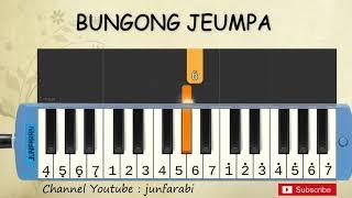 not pianika bunga jeumpa - lagu daerah - belajar pianika not angka bungong jeumpa