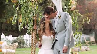 Tenley Molzahn and Taylor Leopold's Intimate Backyard Wedding | Martha Stewart Weddings