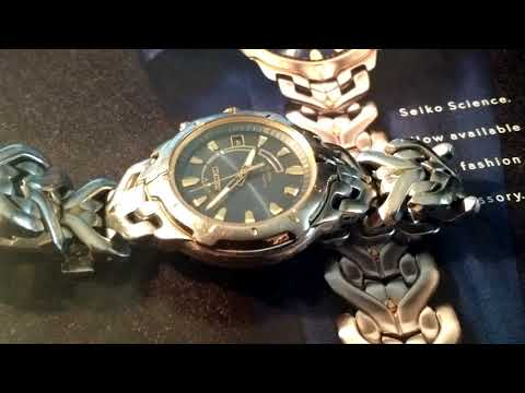 Reloj Seiko Kinetic 5M62-0A10  Calibre 5M62A