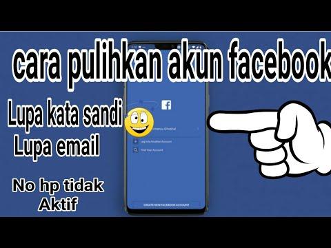 Berikut video Cara mengembalikan akun facebook yang dihapus secara permanen..