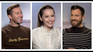 ON THE BASIS OF SEX Interviews: Felicity Jones, Armie Hammer and Justin Theroux