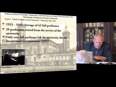 Michael Jung, Political and Racist Cleansing ('Säuberung') and Nazification... - 2014-09-06