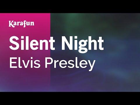 Karaoke Silent Night - Elvis Presley *