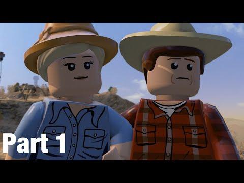 Lego Jurassic world walkthrough the prologue part 1 |