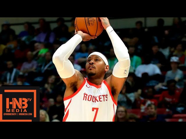 Houston Rockets vs Memphis Grizzlies Full Game Highlights | 02.10.2018, NBA Preseason