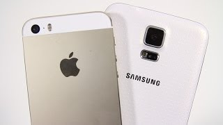 Samsung Galaxy S5 vs Apple iPhone 5s - Full Comparison