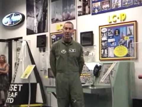 Tour of Range Operations Control Center (ROCC) at Cape Canaveral, Air Force Week 2010