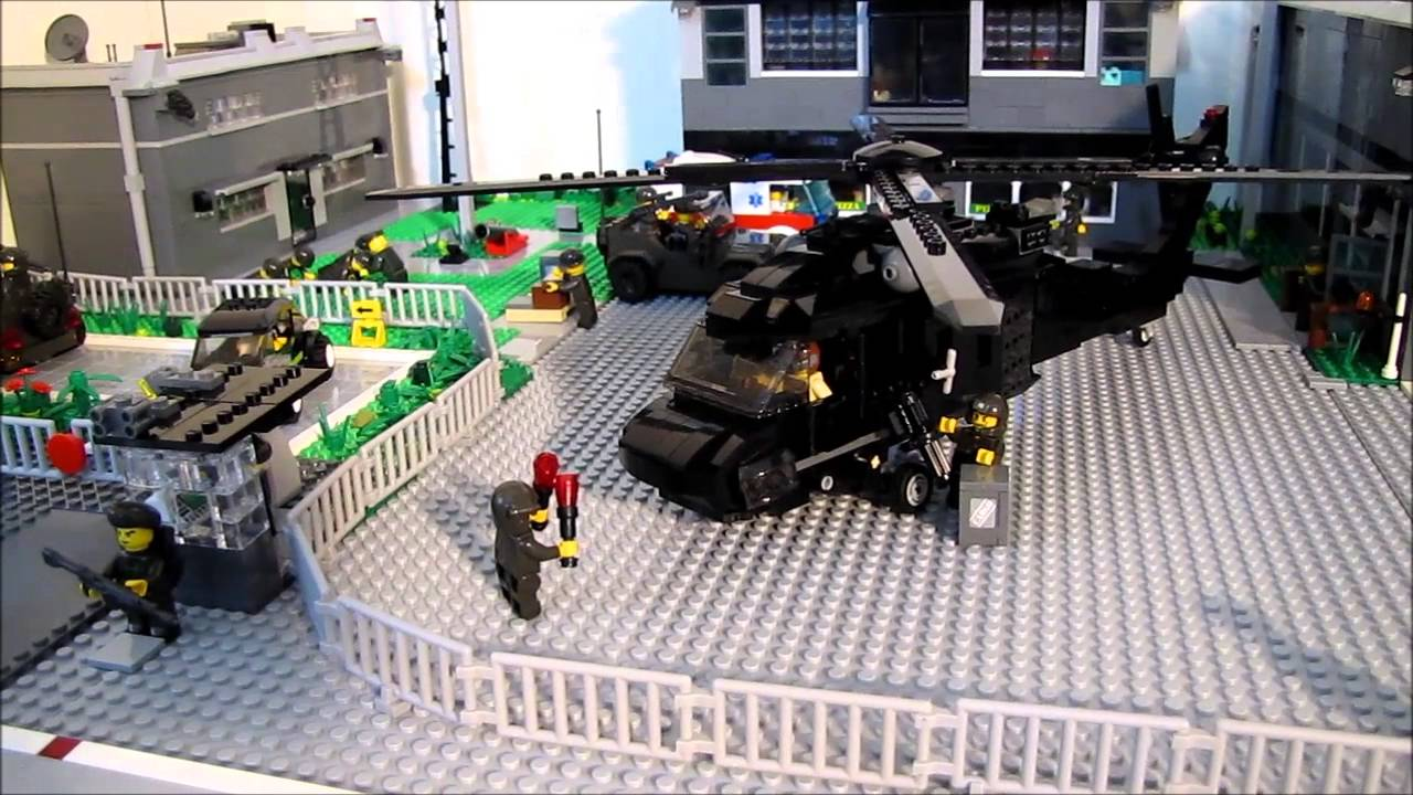 Lego City Military Base and Airport - YouTube