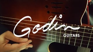 Godin Multiac Nylon Encore Burnt Umber | Melodia Musik Online