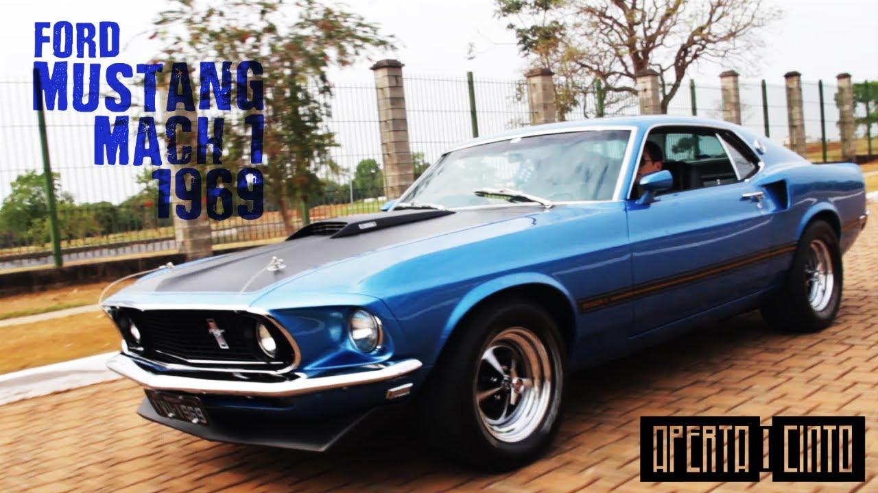 Ford mustang mach 1 1969 um v8 pony car de respeito
