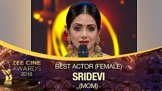 Download lagu Sridevi WON Best Actress Award | MOM Movie | Zee Cine Awards 2018