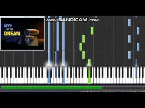 Glorious Rock Dog Piano Synthesia