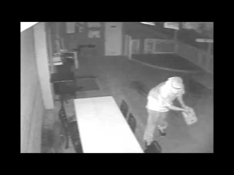 Arsonist caught on video setting Texas saloon on fire