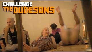 Repeat youtube video GETTING NAKED In Yoga Class prank!