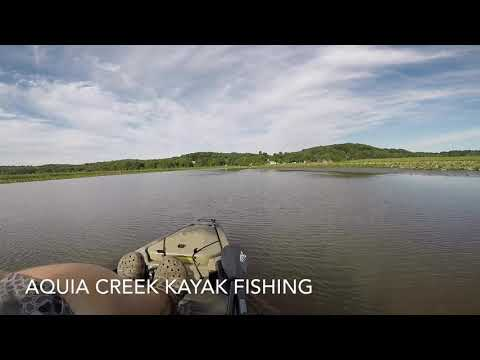 Aquia Creek Kayak Fishing