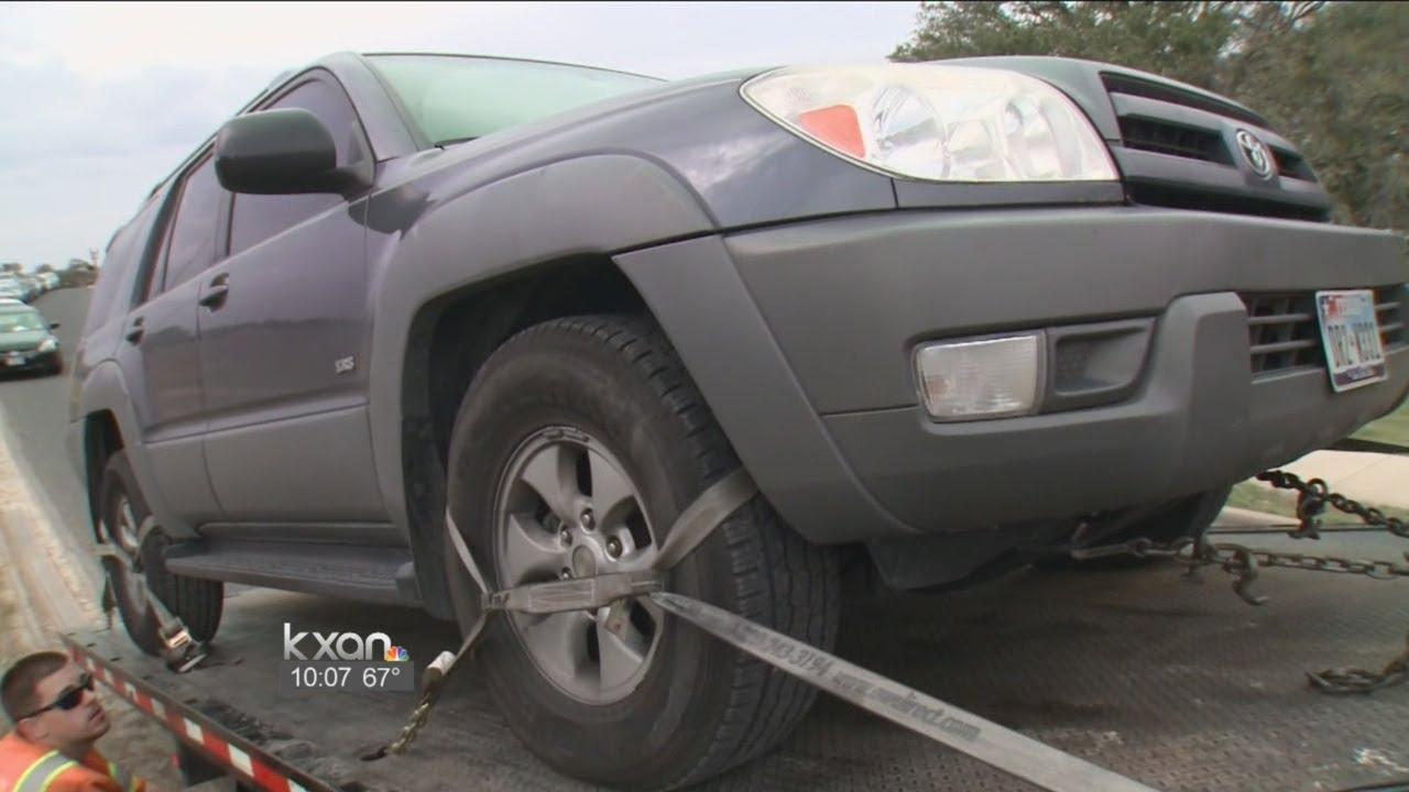 Rude awakening: Dozens of cars parked near MetroRail stop towed away