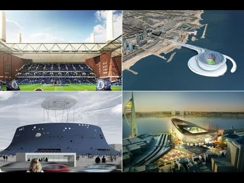 The best stadiums that were never built: Spurs, Liverpool, Everton and Barcelona designs